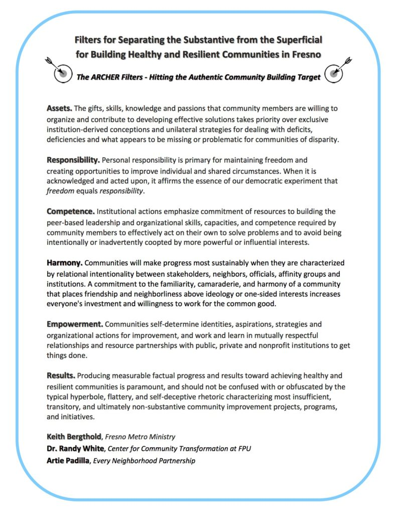 the archer filter every neighborhood partnership enp archer