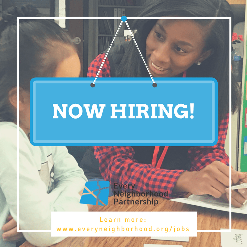 Now Hiring: Literacy Mentor Director (Full Time)